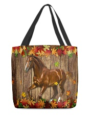Horse Fall Leave All-over Tote front