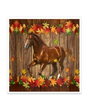 Horse Fall Leave Sticker - Single (Vertical) thumbnail