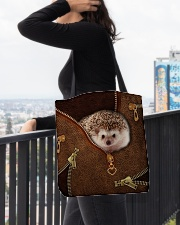 Hedgehog  All-over Tote aos-all-over-tote-lifestyle-front-05