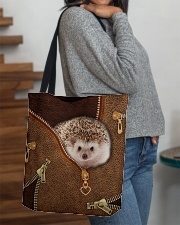 Hedgehog  All-over Tote aos-all-over-tote-lifestyle-front-09