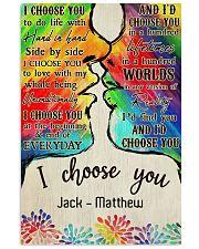 LGBT Kiss I Choose You 11x17 Poster front