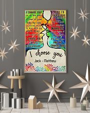 LGBT Kiss I Choose You 11x17 Poster lifestyle-holiday-poster-1
