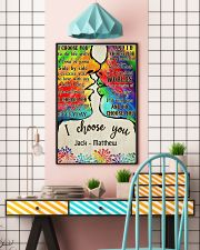 LGBT Kiss I Choose You 11x17 Poster lifestyle-poster-6
