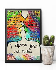 LGBT Kiss I Choose You 11x17 Poster lifestyle-poster-8