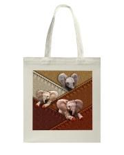 Elephant Colour Suede Tote Bag thumbnail