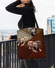 Elephant Colour Suede All-over Tote aos-all-over-tote-lifestyle-front-05