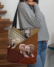 Elephant Colour Suede All-over Tote aos-all-over-tote-lifestyle-front-09