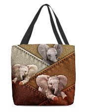 Elephant Colour Suede All-over Tote back