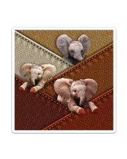 Elephant Colour Suede Sticker - Single (Vertical) thumbnail
