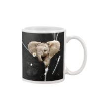 Elephant Black  Mug thumbnail