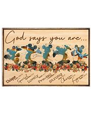 MK - God Says You Are  17x11 Poster front