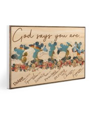MK - God Says You Are  Gallery Wrapped Canvas Prints tile
