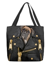 Boxer - Jacket Bag -Tote All-over Tote back