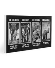 Elephant - Be Strong Gallery Wrapped Canvas Prints tile