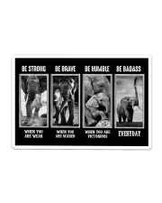 Elephant - Be Strong Sticker tile