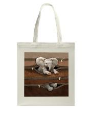 Lovely Elephant Tote Bag tile