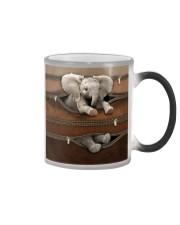 Lovely Elephant Color Changing Mug tile