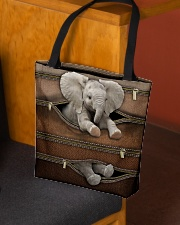 Lovely Elephant All-over Tote aos-all-over-tote-lifestyle-front-02