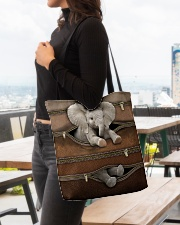 Lovely Elephant All-over Tote aos-all-over-tote-lifestyle-front-04