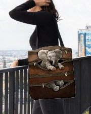 Lovely Elephant All-over Tote aos-all-over-tote-lifestyle-front-05