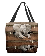 Lovely Elephant All-over Tote back