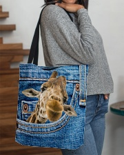 Giraffe Jean All - Over Tote All-over Tote aos-all-over-tote-lifestyle-front-09