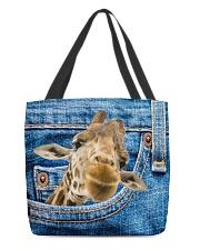 Giraffe Jean All - Over Tote All-over Tote back