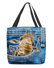 Giraffe Jean All - Over Tote All-over Tote front
