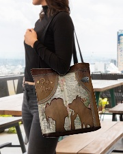Pig Mom Tote All-over Tote aos-all-over-tote-lifestyle-front-04