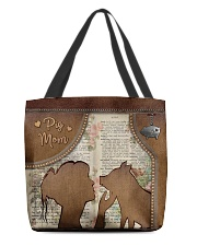 Pig Mom Tote All-over Tote back