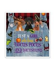 Dachshund Hocus Pocus Sticker - Single (Vertical) thumbnail