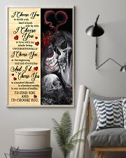 Skull - I Choose You Poster 11x17 Poster lifestyle-poster-1