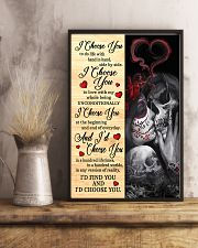 Skull - I Choose You Poster 11x17 Poster lifestyle-poster-3