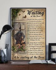 Waiting At The Door Dachshund 11x17 Poster lifestyle-poster-2