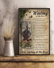 Waiting At The Door Dachshund 11x17 Poster lifestyle-poster-3