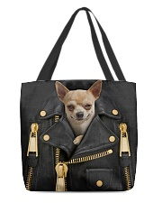 Chihuahua - Jacket  Bag -Tote All-over Tote front