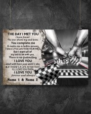 Custom Name Racing The Day I Met You 17x11 Poster aos-poster-landscape-17x11-lifestyle-12