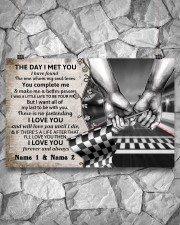 Custom Name Racing The Day I Met You 17x11 Poster aos-poster-landscape-17x11-lifestyle-13