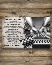 Custom Name Racing The Day I Met You 17x11 Poster aos-poster-landscape-17x11-lifestyle-14