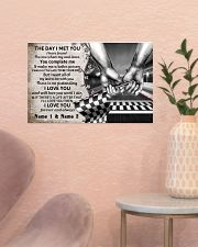Custom Name Racing The Day I Met You 17x11 Poster poster-landscape-17x11-lifestyle-22