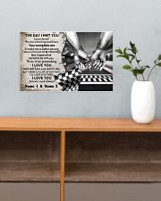 Custom Name Racing The Day I Met You 17x11 Poster poster-landscape-17x11-lifestyle-24