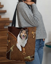 Sheltie All-over Tote aos-all-over-tote-lifestyle-front-09