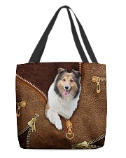 Sheltie All-over Tote back