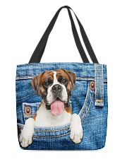 Boxer All-over Tote All-over Tote front