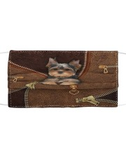 Yorkshire Terrier  Cloth face mask thumbnail