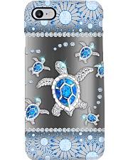 Turtle - Blue Phonecase Phone Case i-phone-8-case