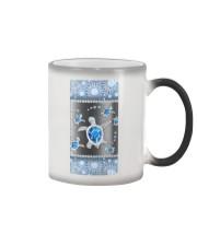 Turtle - Blue Phonecase Color Changing Mug tile
