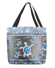 Turtle - Blue Phonecase All-Over Tote tile