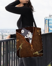 Penguin  All-over Tote aos-all-over-tote-lifestyle-front-05