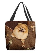 Pomeranian  All-over Tote back